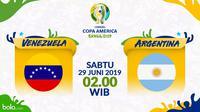 Copa America 2019 - Venezuela Vs Argentina (Bola.com/Adreanus Titus)