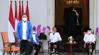 Presiden Joko Widodo atau Jokowi telah menunjuk Sakti Wahyu Trenggono untuk mengisi jabatan Menteri Kelautan dan Perikanan (KKP). (Liputan6.com/Putu Merta Surya Putra)