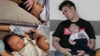6 Momen Baim Wong dan Paula Verhoeven Tidur Bareng Kiano, Bikin Gemas (sumber: Instagram.com/baimwong)