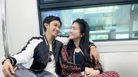 Potret Caesar Hito dan Felicya Potong Rambut Zoul Panjoul. (Sumber: Instagram.com/felicyangelista_)