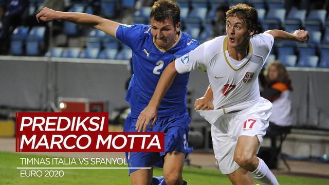 Berita Video Marco Motta Prediksi Timnas Italia Akan Menang Lawan Spanyol di Semifinal Euro 2020