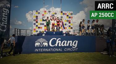 Berita video dominasi pembalap Indonesia di ARRC (Asia Road Racing Championship) 2018 kelas Asia Production (AP) 250cc.