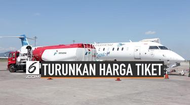 Strategi Pemerintah Turunkan Harga Tiket Pesawat