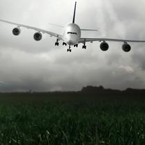 Ilustrasi Pesawat Jatuh (iStockphoto)
