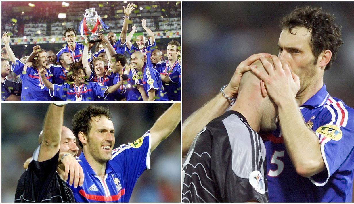 Ritual Laurent Blanc mencium kepala Fabian barthez yang menjadi ikonik di Piala Dunia 1998 terus berlanjut di Piala Eropa 2000. Kecupan yang dipercaya membawa keberuntungan tersebut terbukti dengan dua gelar bergengsi yang diraih Les Bleus kala itu.