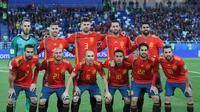 Artis Rico Cepet menyebut faktor penampilan menanjak yang dimiliki Diego Costa bakal membantu Spanyol meraih gelar Piala Dunia 2018. (AFP/Patrick Hertzorg)