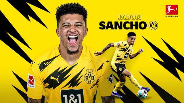 Berita video aksi-aksi terbaik dari bintang Borussia Dortmund, Jadon Sancho, di Bundesliga 2020/2021.
