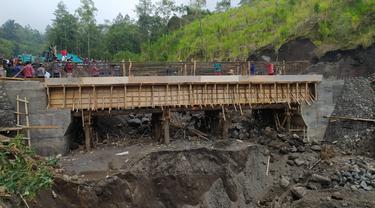 TMMD ke-111 Bangun Jembatan di Desa Terpencil di Karangasem Bali