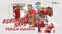 Kekuatan Baru Persija Jakarta, Ryuji Utomo, Bruno Matos dan Silvio Escobar. (Bola.com/Dody Iryawan)