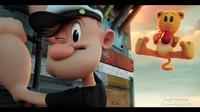 Popeye baru dikemas dalam format tiga dimensi. Nuansa kocak pun masih terlihat dari video panjang itu.