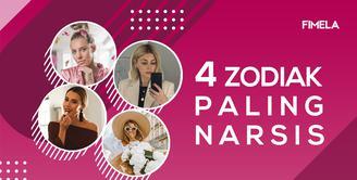 4 Zodiak Paling Narsis