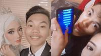 5 Momen Mesra Tegar Septian dan Istri Setelah Menikah, Main Game Bareng (sumber: Instagram.com/tegar_official dan Instagram.com/sarahsheilka)