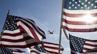 Ilustrasi maskapai penerbangan Amerika Serikat. (ShutterStock)