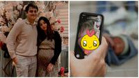 Adzana Bing Slamet dan Rizky Alatas dikaruniai anak kedua berjenis kelamin perempuan. (Sumber: Instagram/@adzanabs)