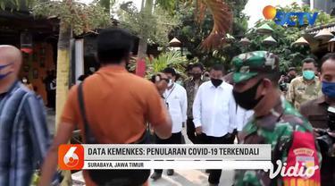 Pernyataan Risma itu berdasarkan data Kementerian Kesehatan, yang menyatakan tingkat penularan Covid-19 di Surabaya sudah rendah. Dengan pertimbangan, jumlah kesembuhan lebih banyak, dari jumlah orang yang sakit.
