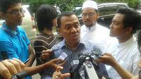 Ketua Tim Kuasa Hukum FPI Sugito. (Liputan6.com/Hanz Jimenez Salim)