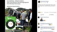 [Cek Fakta] Gambar Tangkapan Layar Kecelakaan Lalu Lintas
