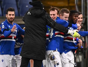 FOTO: Takluk 1-2 Dari Sampdoria, Inter Milan Gagal Rebut Posisi Puncak