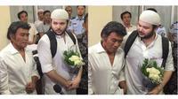 6 Momen Ridho Rhoma Bebas dari Penjara, Dijemput Sang Ayah