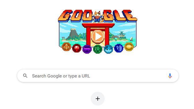 Google Doodle ramaikan acara Olimpiade Tokyo 2020 / 2021. (Doc: Google)