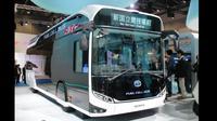Bus Sora berbahan hidrogen tampil di Tokyo Motor Show. (Dok Toyota)