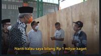 Gubernur Jawa Tengah Ganjar Pranowo pada Jumat (7/5/2021) melakukan kunjungan kerja di Kabupaten Banyumas