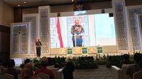 Deputi Gubernur Bank Indonesia (BI), Dody Budi Waluyo dalam pembukaan forum 5th International Islamic Monetary Economics and Finance Conference (IIMEFC) 2019.