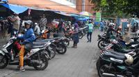 Retribusi parkir menyumbang miliaran rupiah untuk PAD Kota Malang, Jawa Timur (Liputan6.com/Zainul Arifin)