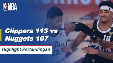 Berita Video Highlights NBA, LA Clippers Vs Denver Nuggets 113-107