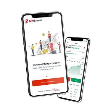 PT Sinarmas Sekuritas meluncurkan aplikasi investasi SimInvest.