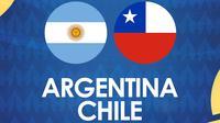 Copa America: Argentina Vs Chile. (Bola.com/Dody Iryawan)