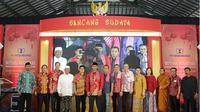 Acara ini bertema Mutiara Nusantara yang digelar di Aula TITD Hok Hien Bio pada Sabtu (9/2).