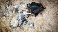 Bom peninggalan Perang Dunia II ditemukan di Hong Kong (27/1/2018) (sumber: Hong Kong Police)