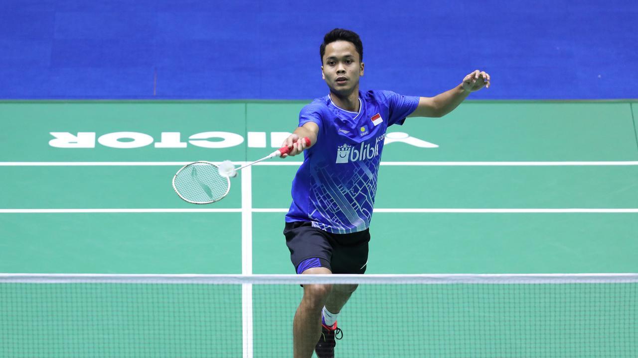 Anthony Ginting Siapkan Strategi Hadapi Antonsen di Semifinal China Open 2019
