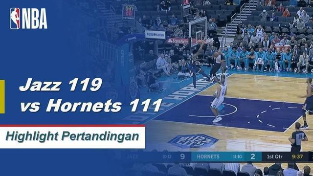 Donovan Mitchel mencetak 30 poin, 6 rebound dan 6 assist untuk memimpin Jazz mengalahkan Hornets
