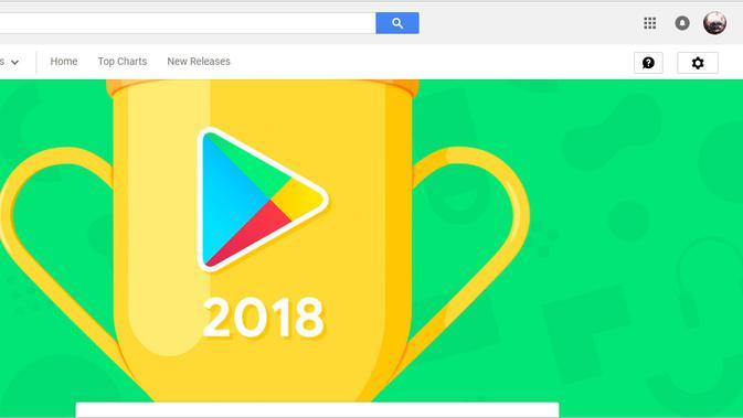 Daftar aplikasi terbaik 2018 di Google Play Store. (Doc: Google)