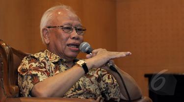 Ketua Dewan Pers Bagir Manan. (Liputan6.com/Andrian M Tunay)