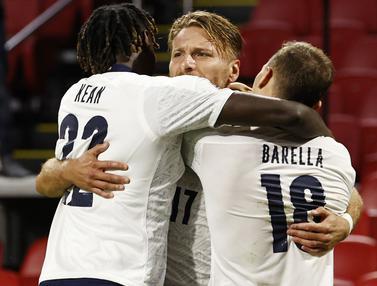 Gol Tunggal Nicolo Barella Bawa Italia Kalahkan Belanda di UEFA Nations League