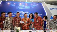 PT. Bank Rakyat Indonesia (Persero) Tbk beserta entitas perusahaan anak kembali mampu mencatatkan kinerja positif diatas rata rata perbankan nasional hingga akhir periode Triwulan II Tahun 2018.