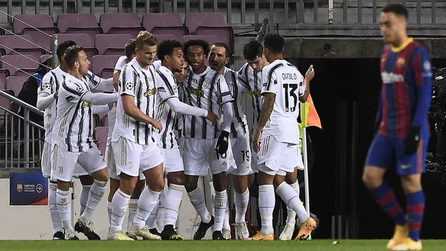 Cuplikan Liga Champions Juventus Hajar Barcelona Bola Liputan6 Com