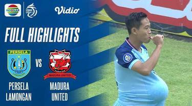 Berita video highlights pertandingan BRI Liga 1 2021/2022 antara Persela Lamongan vs Madura United yang berlangsung di Stadion Maguwoharjo, Sleman, Sabtu (16/10/2021).