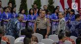 Ketua KPK terpilih periode 2019-2023, Firli Bahuri menghadiri  peringatan Hari Anti Korupsi Dunia (Hakordia) 2019 di Gedung Penunjang KPK, Jakarta, Senin (9/12/2019). KPK kembali menggelar Hari Antikorupsi Sedunia yang jatuh setiap 9 Desember. (Liputan6.com/Faizal Fanani)