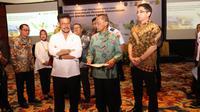 Kementerian Pertanian bersama dengan Tujuh Kementerian dan Lembaga lain melakukan penandatanganan Perjanjian Kerja Sama (PKS) mendukung program pengentasan daerah rentan rawan pangan.