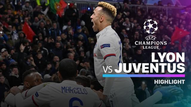 Berita video highlights leg I babak 16 Besar Liga Champions 2019-2020 antara Lyon melawan Juventus yang berakhir dengan skor 0-1, Rabu (26/2/2020).