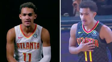 Berita Video pemain Atlanta Hawks, Trae Young menceritakan poin pertamanya di NBA