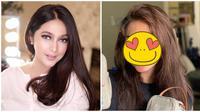 Penampilan Nabila Syakieb tanpa makeup yang tetap memesona. (Sumber: Instagram/@nsyakieb85)