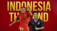 Timnas Indonesia - Evan Dimas Vs Supachok Sarachat (Bola.com/Adreanus Titus)