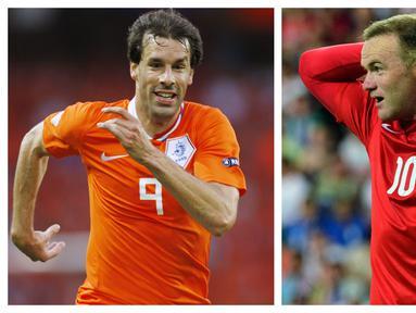 Sepanjang sejarah Piala Eropa tercatat beberapa striker tajam yang mencetak lebih dari 5 gol di beberapa edisi Euro yang diikutinya. Namun sayangnya, para sriker tersebut belum sekalipun mempersembahkan trofi juara. Berikut 7 di antaranya. (Foto: Kolase AFP)