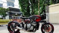 Motor Yamaha R6 buatan Baru Motor Sport untuk Ardi Bakrie (Baru Motor Sport)