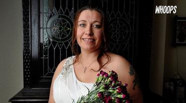 Lynne putuskan menikahi diri sendiri karena kecewa hubungannya dengan pria selalu gagal.